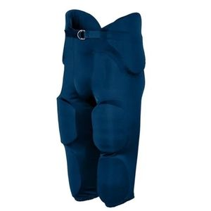 Augusta Navy Integrated Sports Pants, Youth Large
